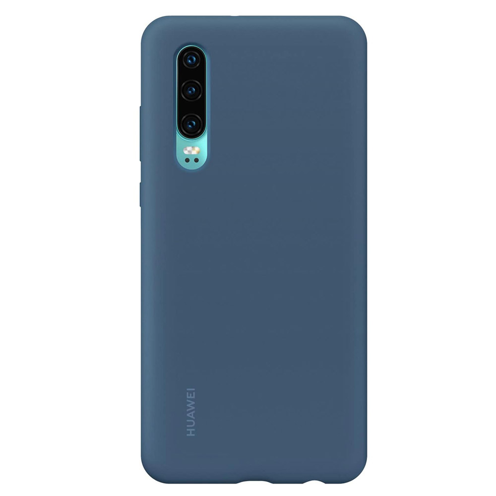 Husa Huawei P30 Huawei Silicon Car Case Blue