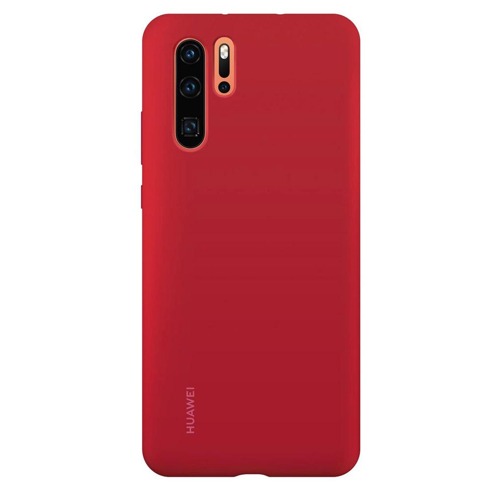 Husa Huawei P30 Pro Huawei Silicon Case Red