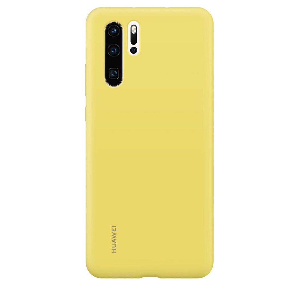 Husa Huawei P30 Pro Huawei Silicon Case Yellow