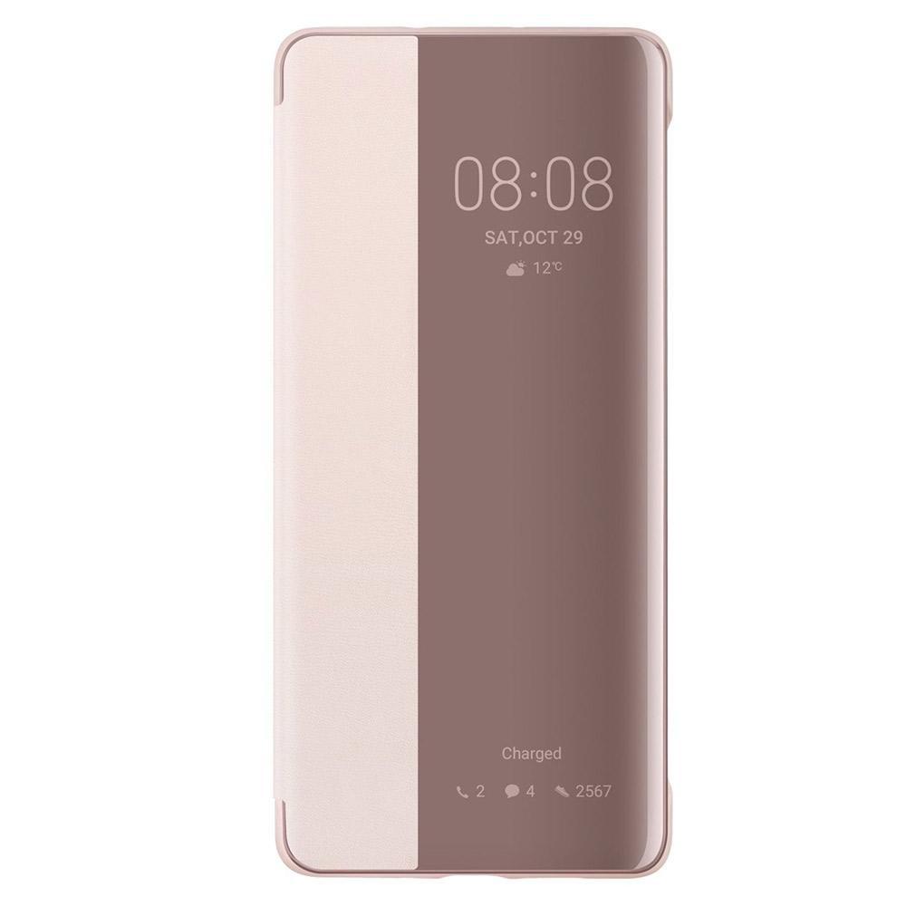 Husa Huawei P30 Pro Huawei View Cover Pink