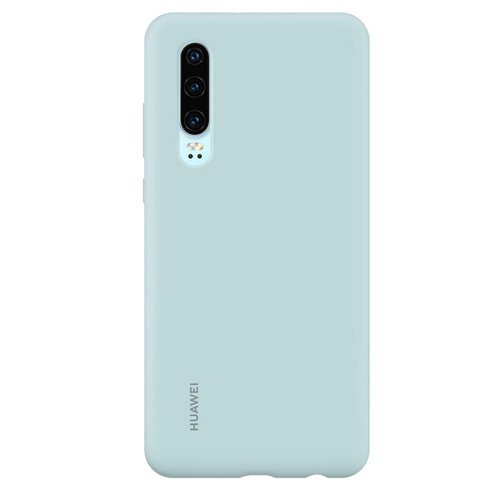 Husa Huawei P30 Huawei Silicon Car Case Light Blue