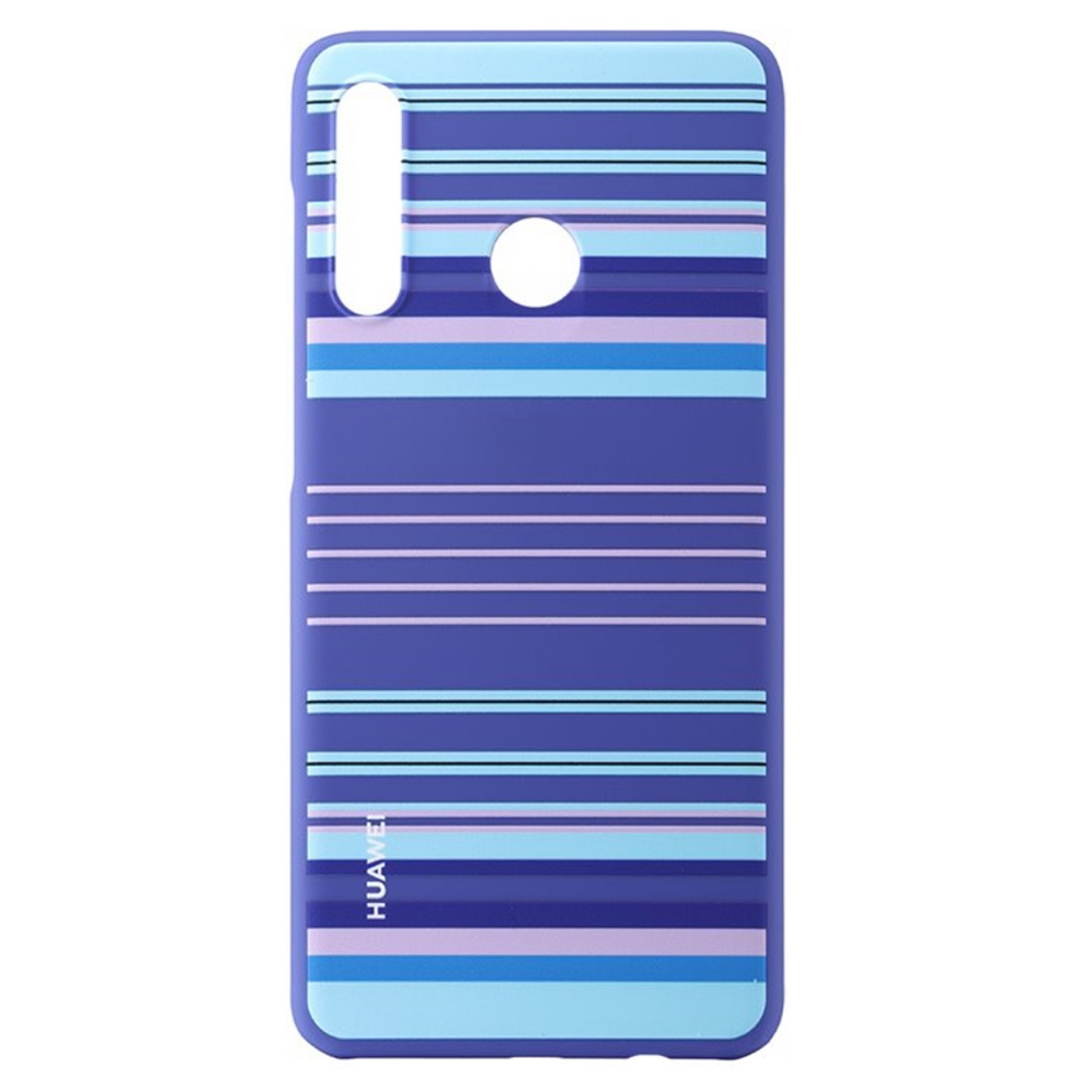 Carcasa Huawei P30 Lite Huawei PC Case Blue Lines