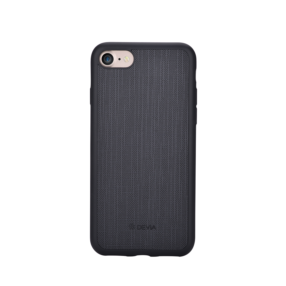 Carcasa iPhone 8 / 7 Devia Jelly Ultraslim Black (flexibil)